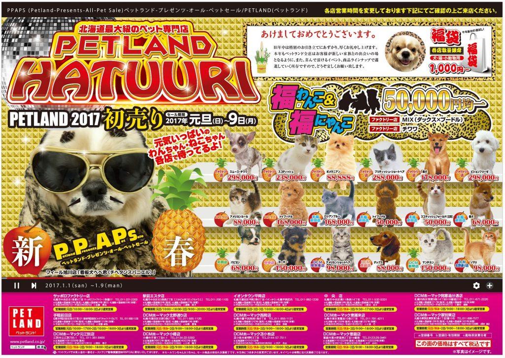 PET LAND2017初売り札幌地区_表面